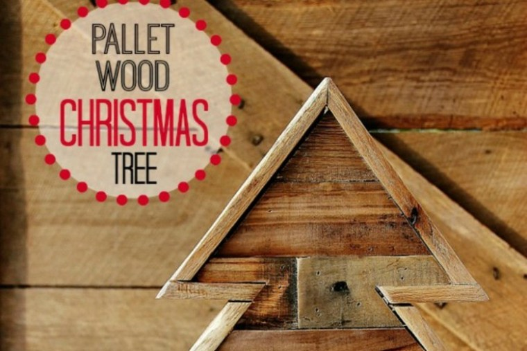 como hacer abeto madera palets