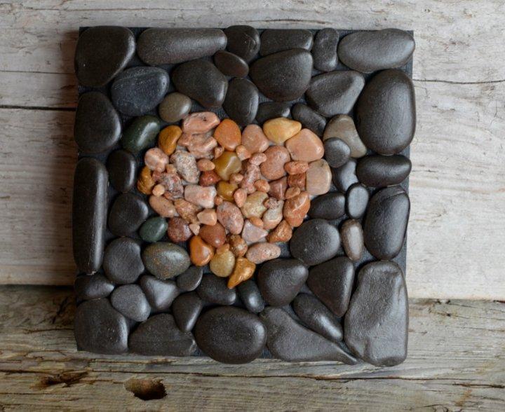 corazon piedras rio imagenes corazones