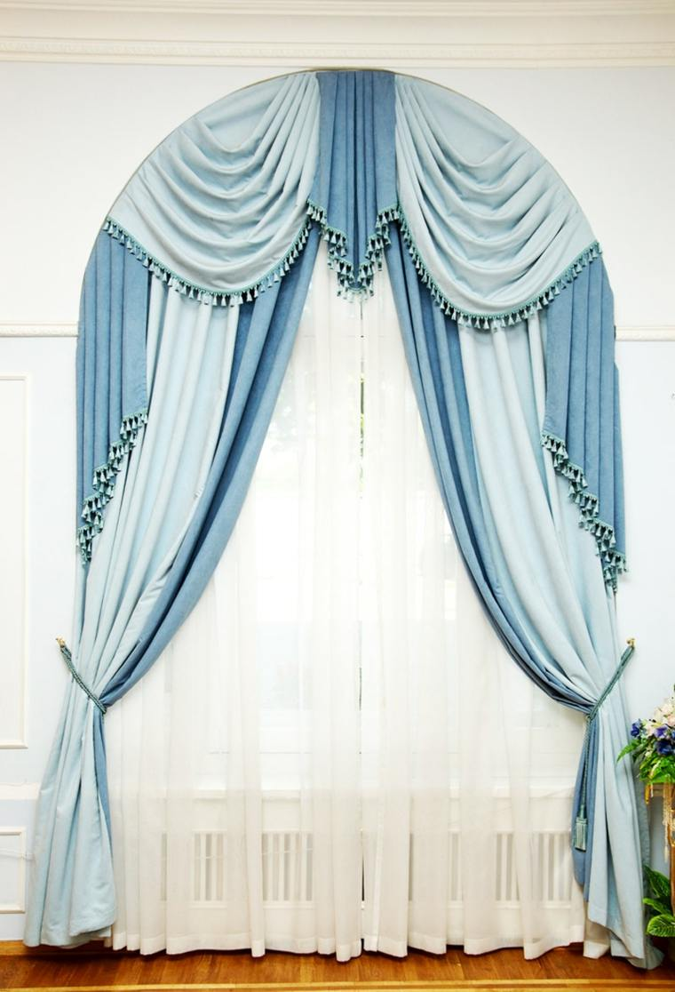 Tipos de cortinas para salon cortinas originales para for Cortinas originales