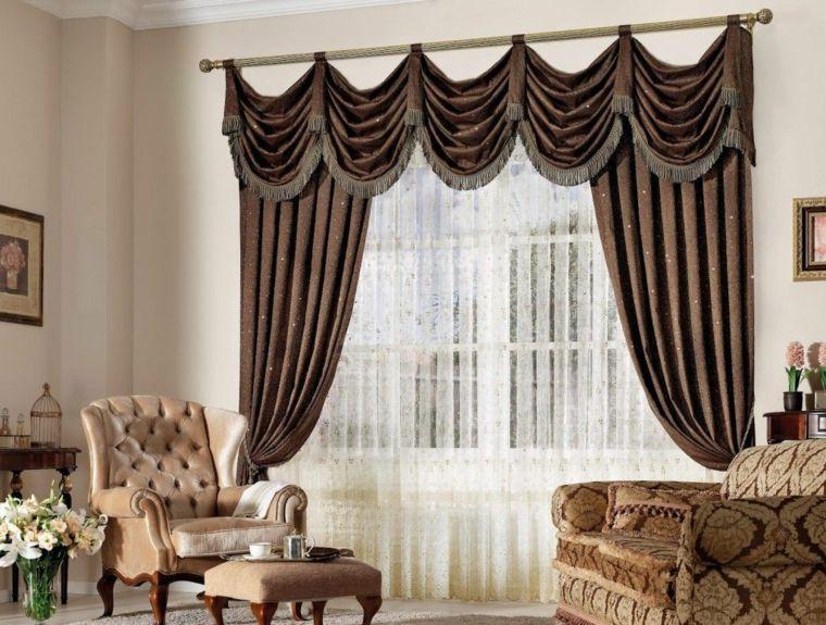 cortinas para salones