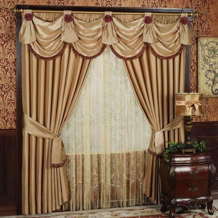 cortinas y decoración clásica