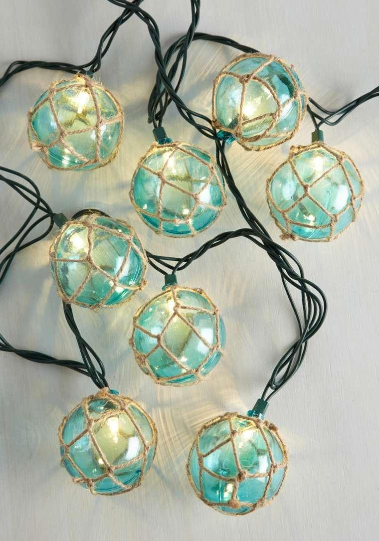 cosas de navidad decoracion manialidades bombillas navidenas ideas