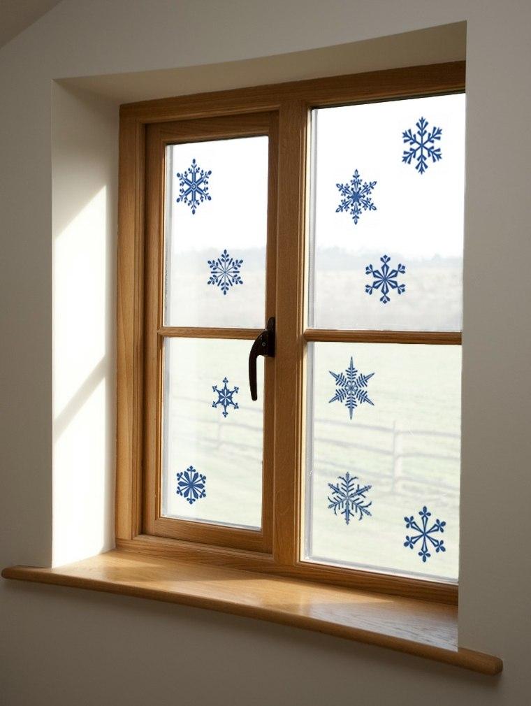 cosas de navidad decoracion manialidades copos nieve ideas