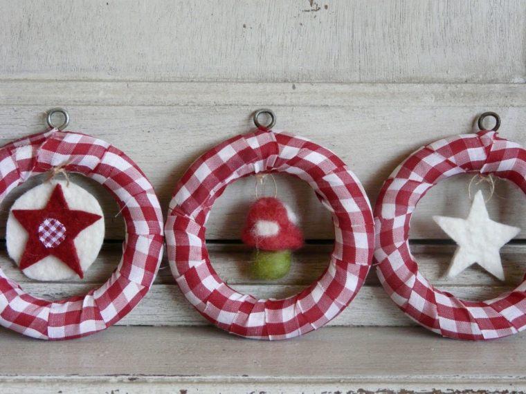 cosas de navidad decoracion manialidades guirnaldas papel ideas