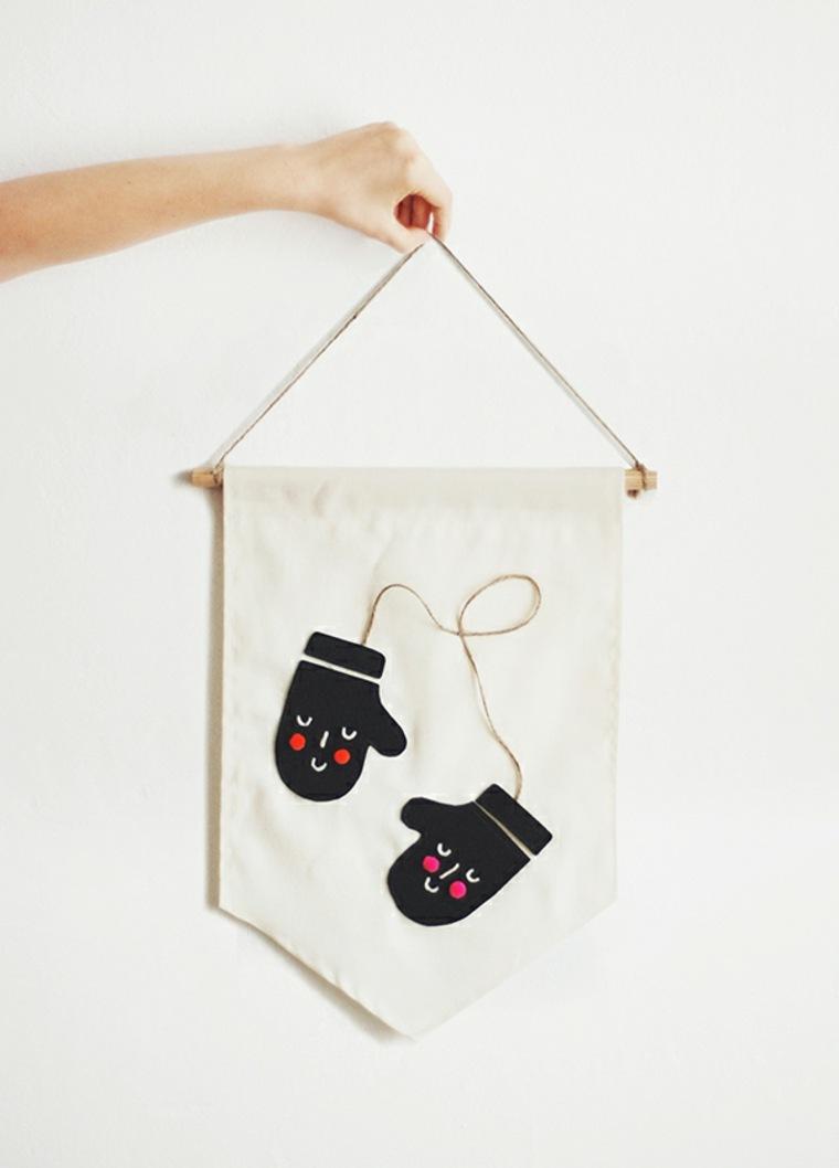 cosas de navidad decoracion manialidades pared ideas