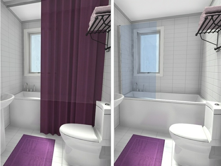 3x7 Powder Room Layout