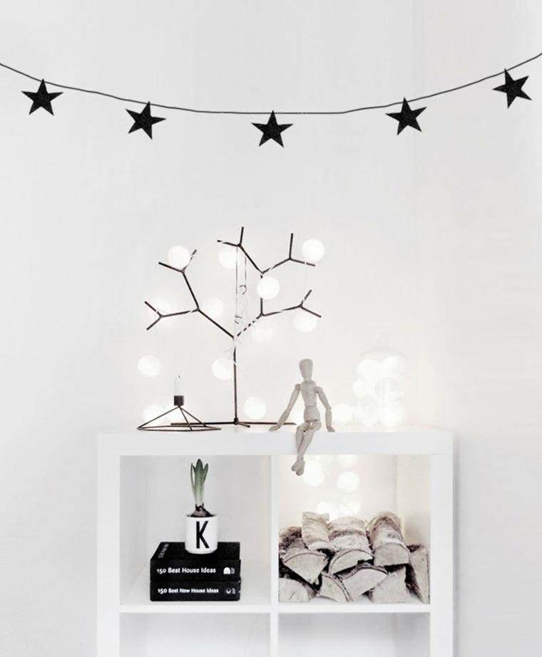decoración navidad estilo minimalista