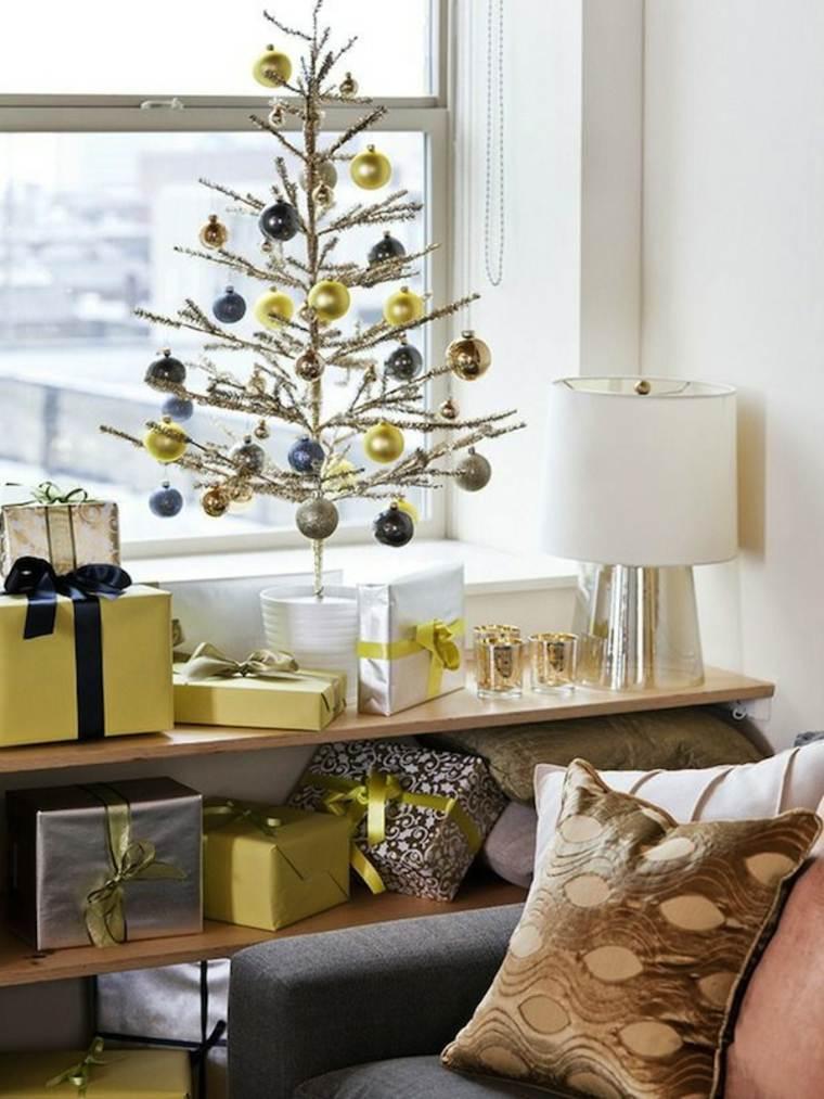 decoración navidad arbol sencillo