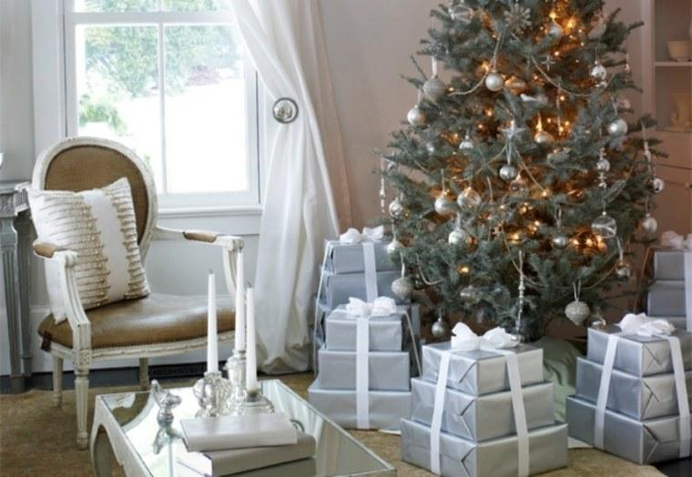 decoración navidad torres regalos