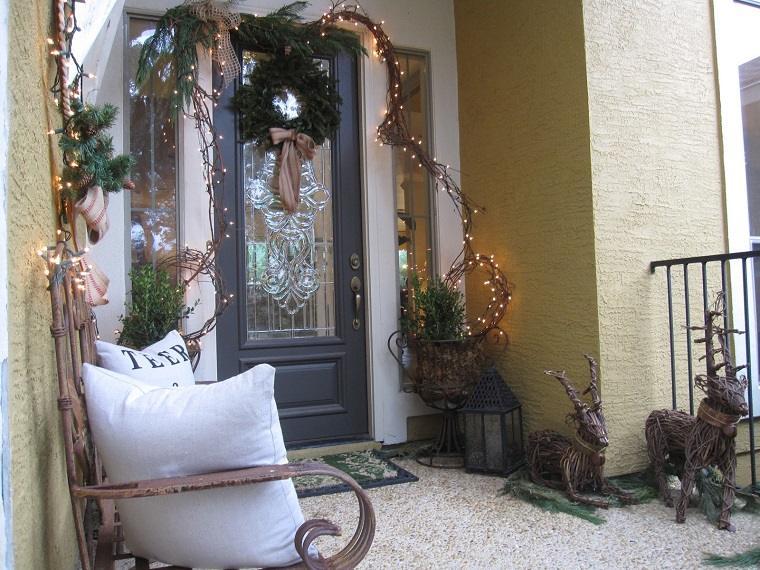 decoracion casa jardin adornos navidenos original ideas