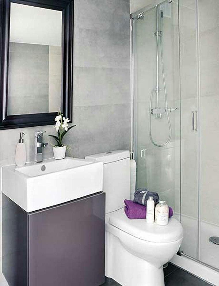 Stunning Cuartos De Baños Pequeños Modernos Images - Casa & Diseño ...