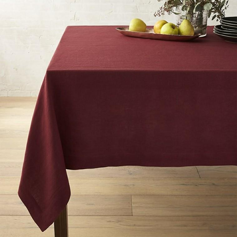 decoración de mesas colores otoñales