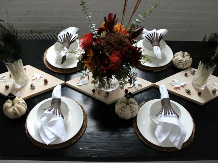 decoración de mesas interior