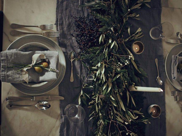 decoración de mesas originales interior