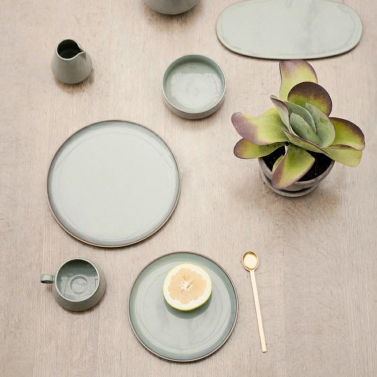 decoración de mesas originales otoño