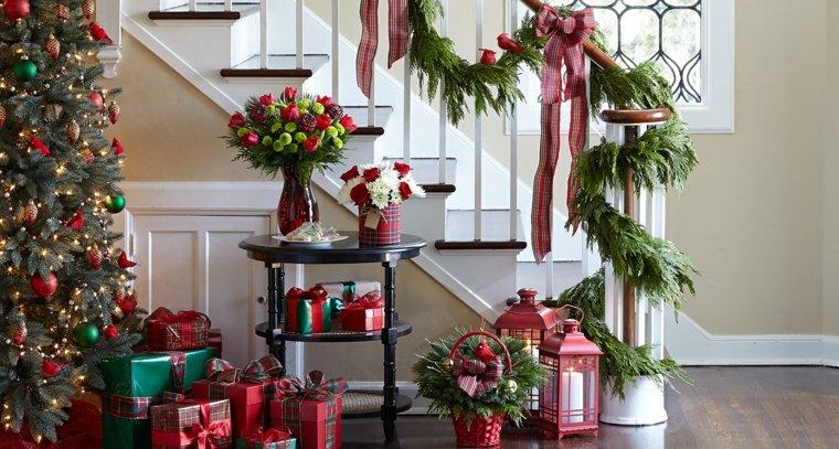 Decoracion Para Navidad Facil Para El Interior - Decoracion-navidea-interiores