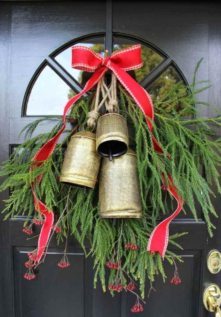 Decoraci n de puertas de entrada para navidad - Adorno puerta navidad ...