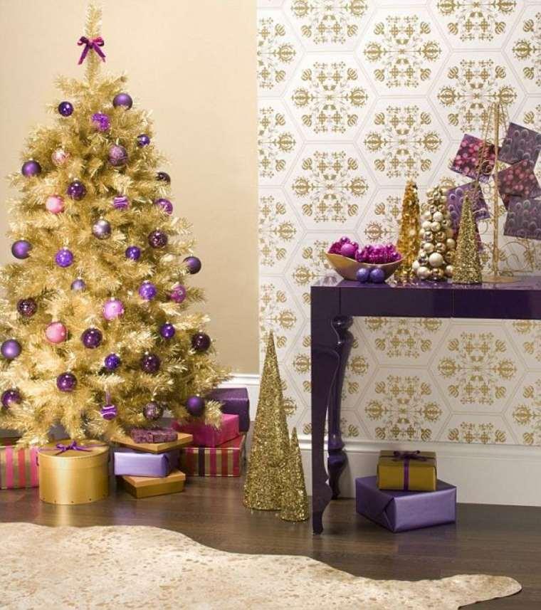 decoración de navidad salón