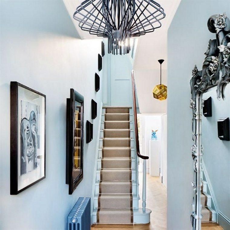Decorar pasillos estrechos con diferentes ideas y estilos for Espejos estrechos