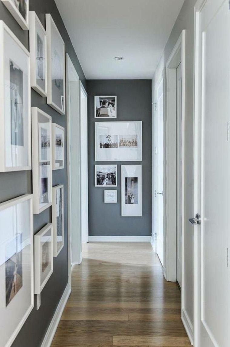 decoración de pasillos estrechos