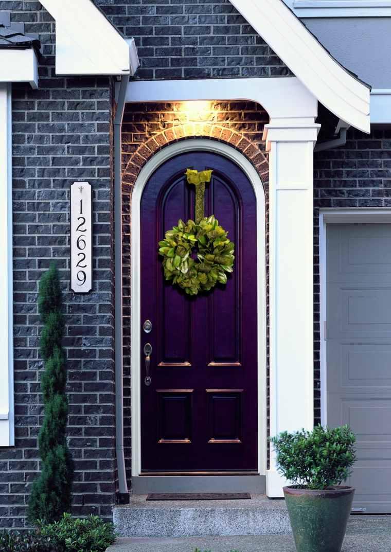 Decoraci n de puertas de entrada para navidad - Puertas de exteriores ...