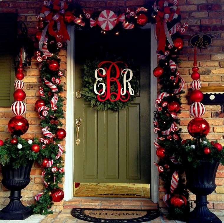 decoración de puertas original