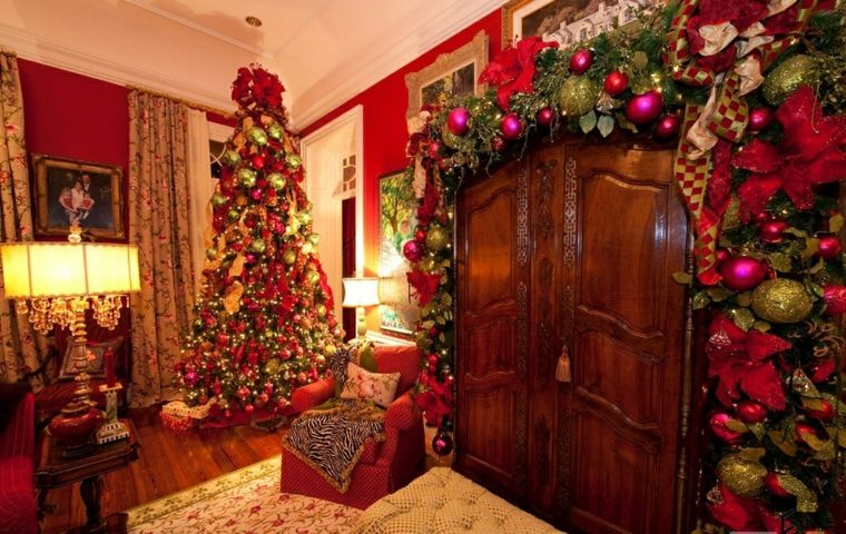 Decorar en navidad el interior de casa - Adornos navidenos casa ...