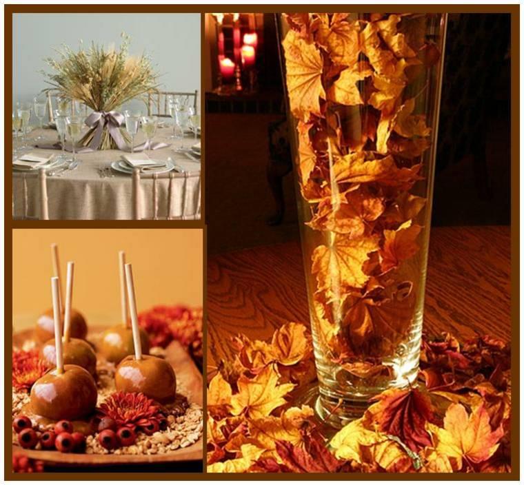 decoración para mesas de comedor