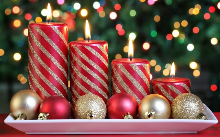 Decoracion Para Navidad Facil Para El Interior - Decoracion-navidea-facil-de-hacer