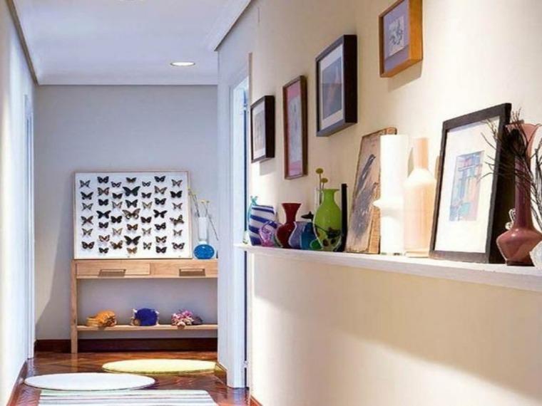 decoración para pasillos estrechos largos