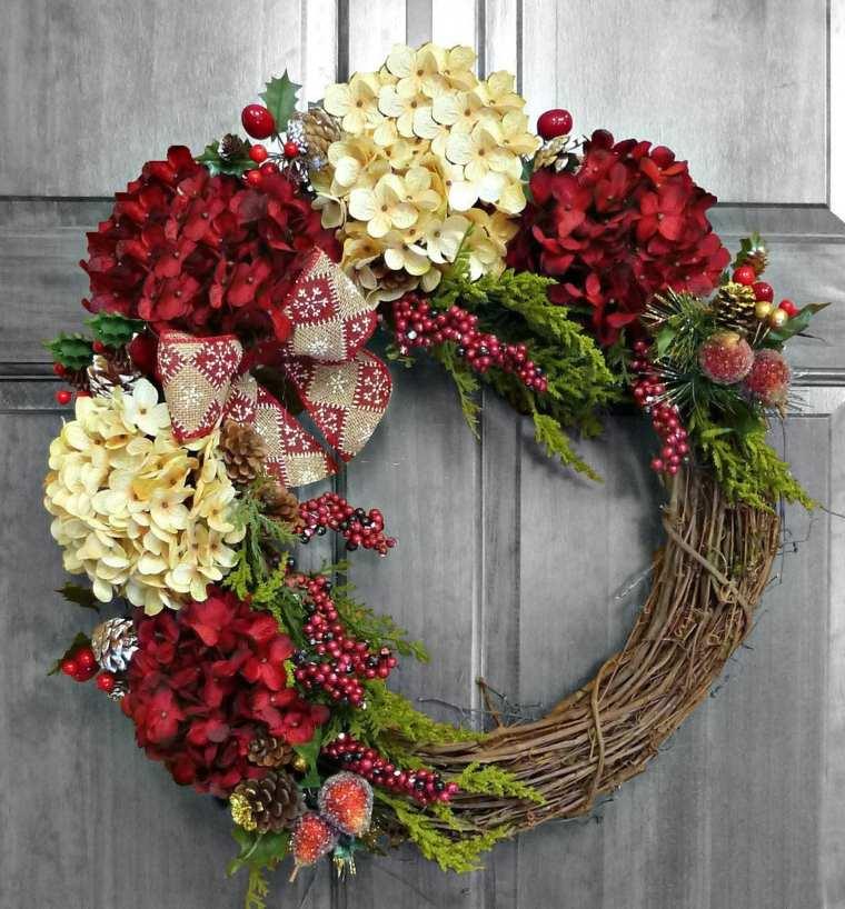 decoración puertas navideñas