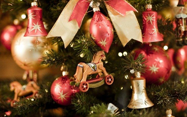 Decorar en navidad el interior de casa - Decoraciones del arbol de navidad ...