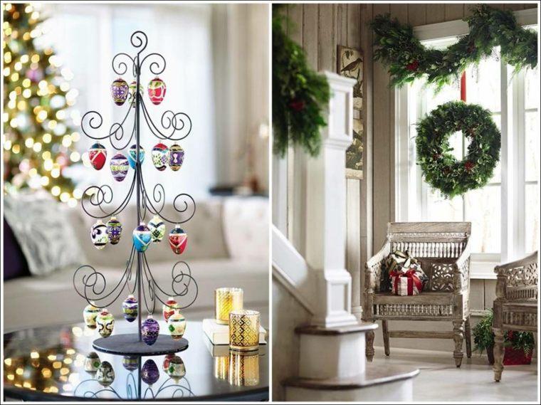 Decoraci n para navidad f cil para el interior - Decoracion navidena exterior ...
