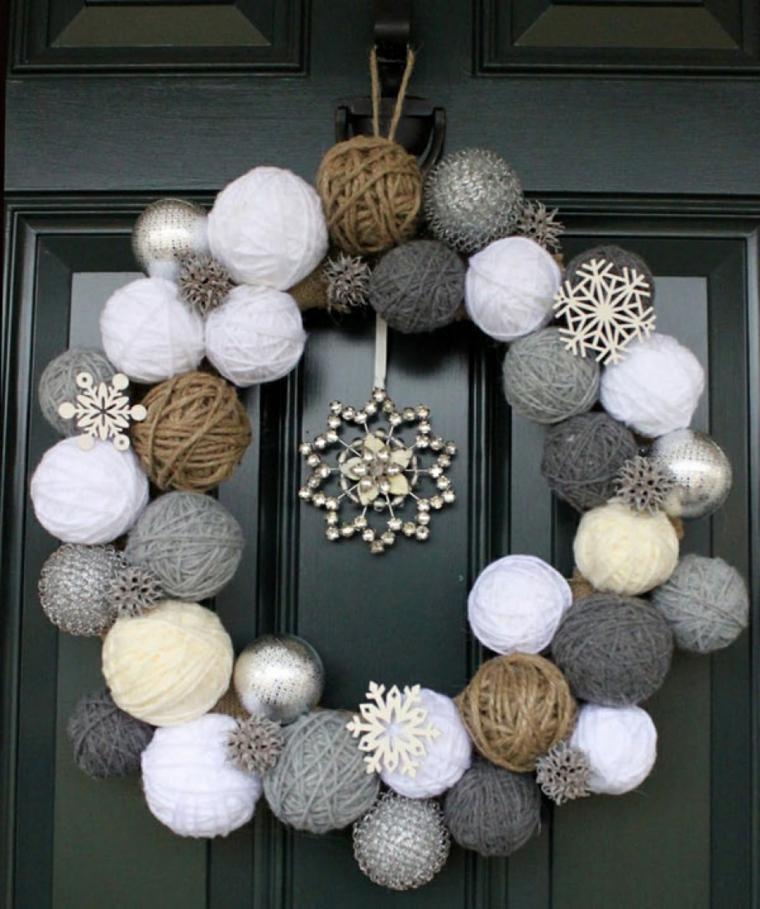 decorados de navidad puerta