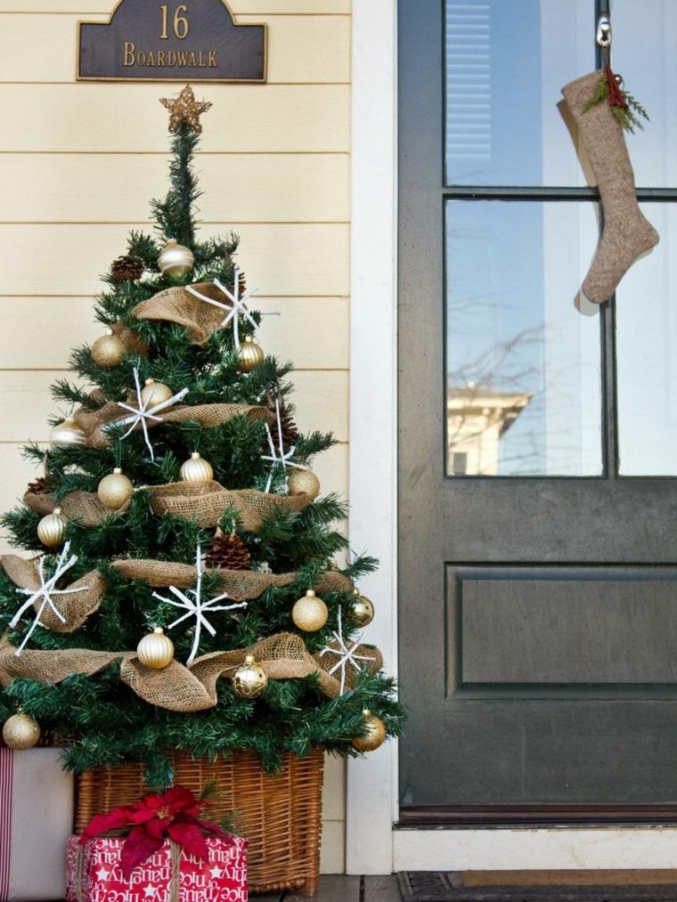 decorar arbol navidad adornos navidenos originales jardin ideas