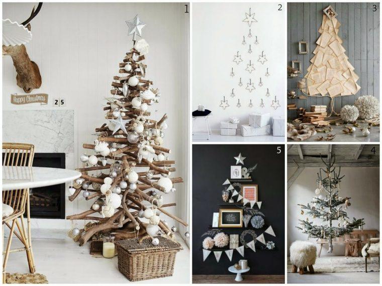 decorar árboles de navidad originales
