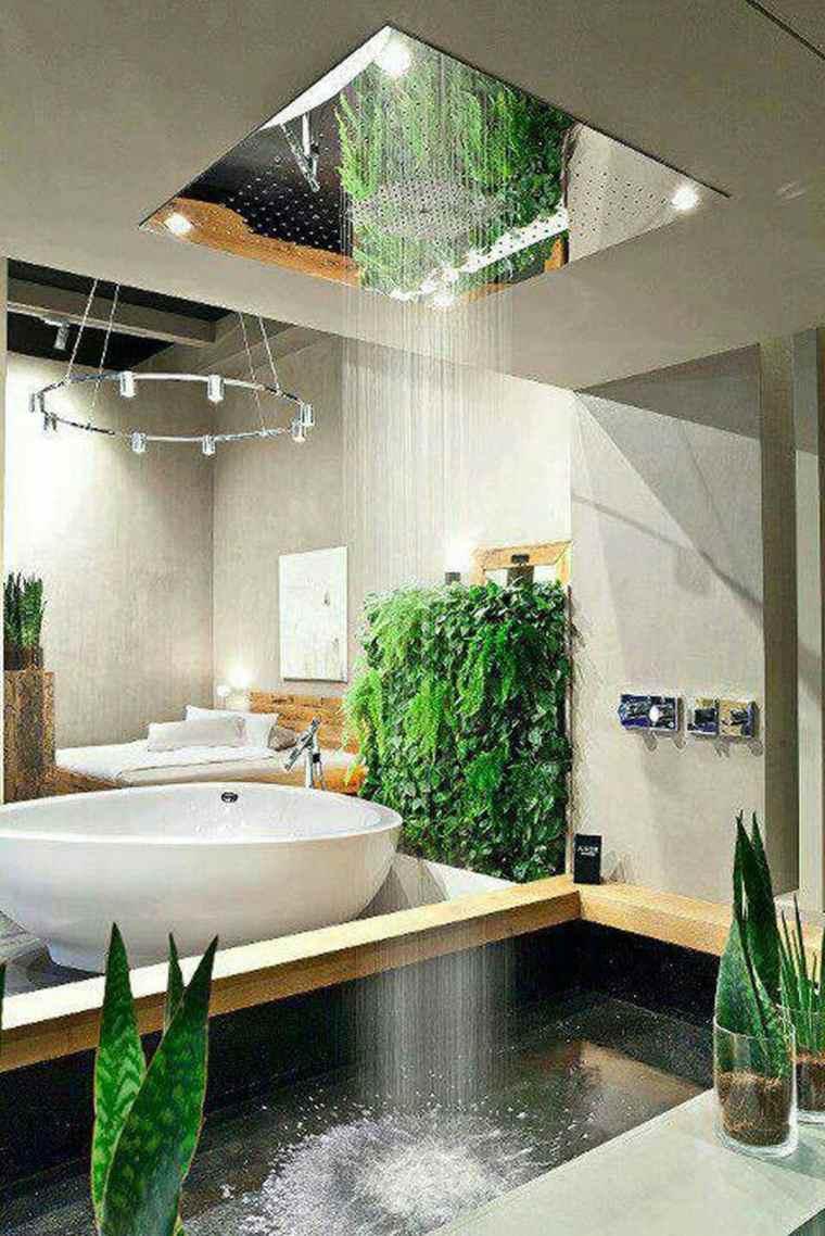 Baño Rustico Con Piedra:Baños rústicos modernos para el interior y el exterior -