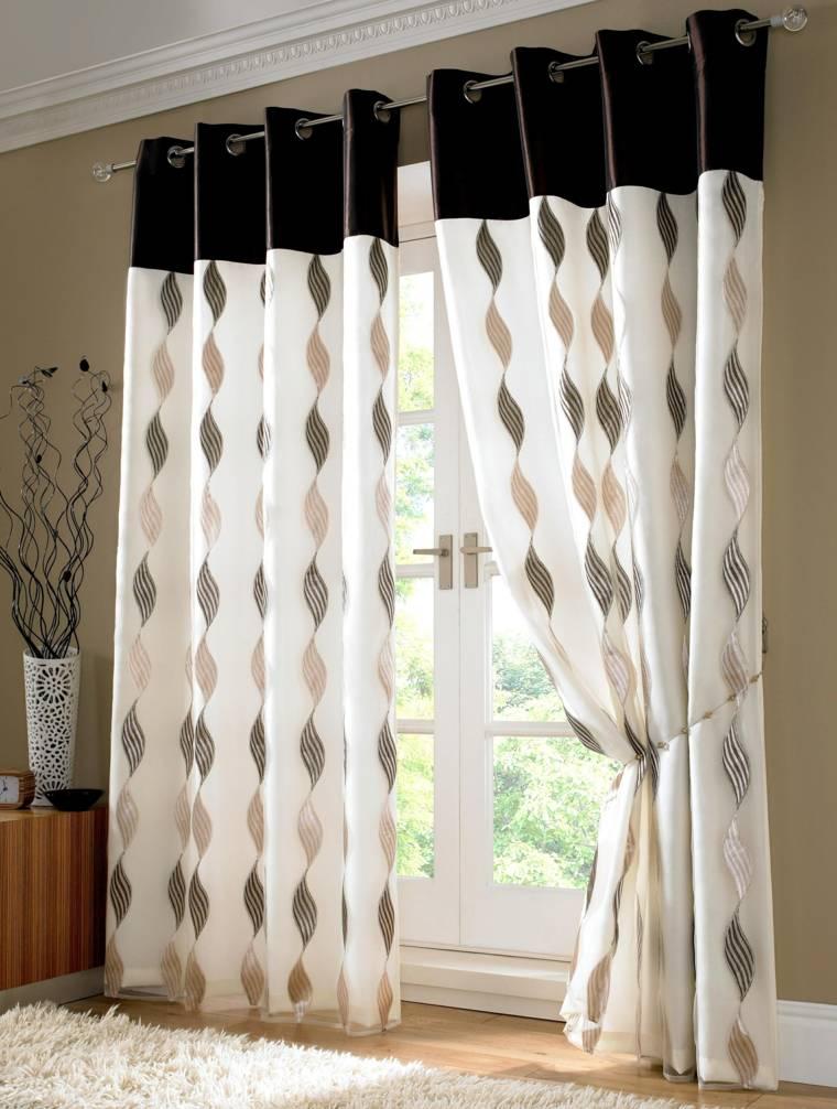 decorar con cortinas originales