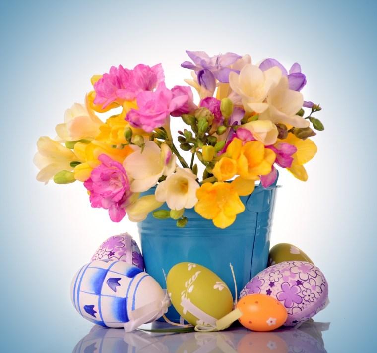 decorar con flores artificiales