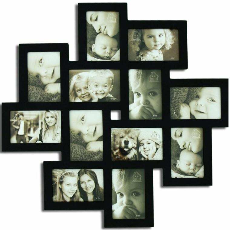 Decorar con marcos de fotos las paredes - Paredes originales ...