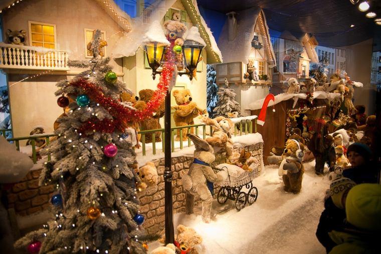 decorar en navidad interiores casas