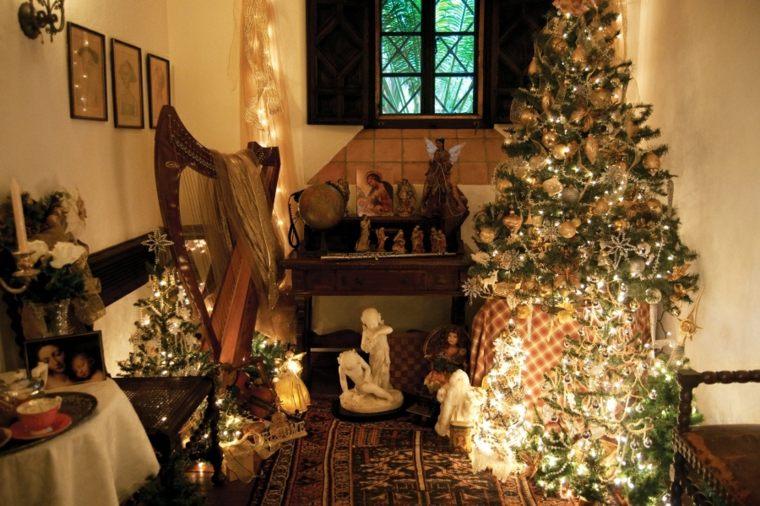 decorar en navidad cocina