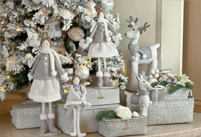 decorar en navidad interior figuras