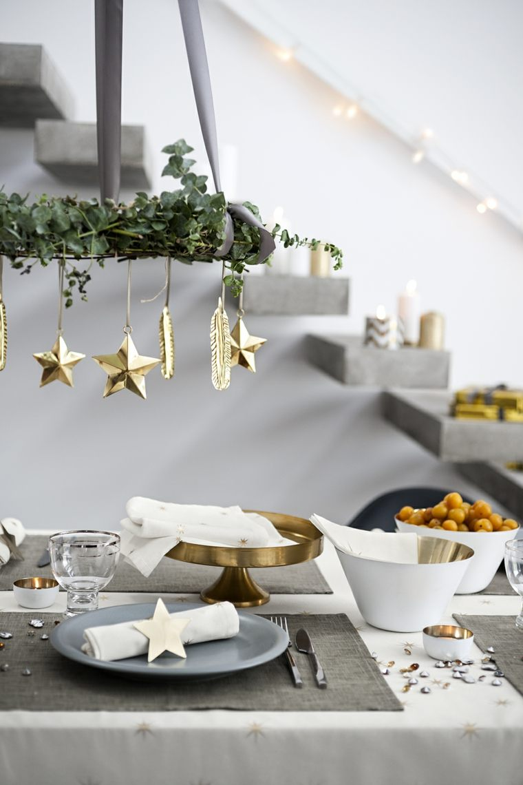 decorar para navidad mesa