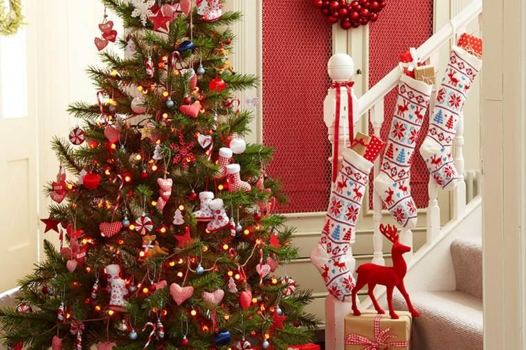 decorar para navidad salón