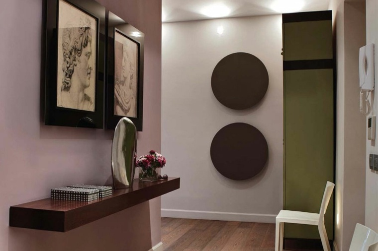decorar pasillos estrechos modernos