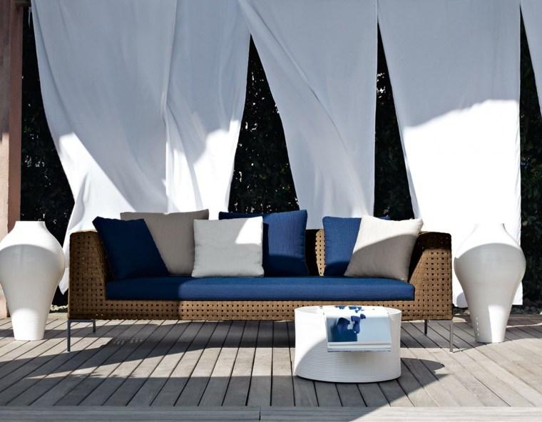 decorar porche opciones muebles antonio citterio ideas
