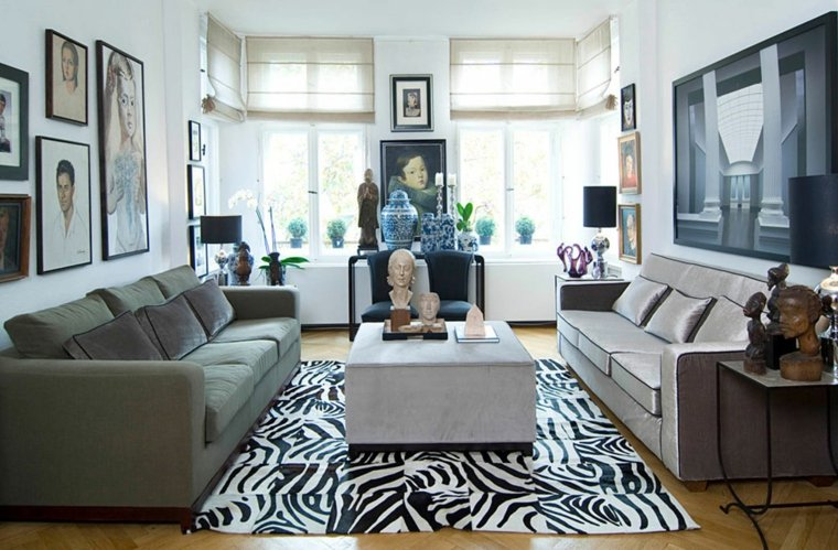 decorar saln rectangular con estilo