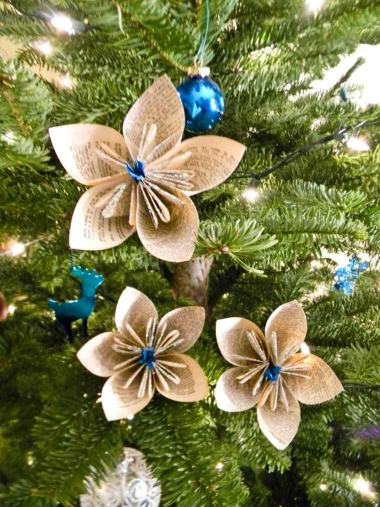 decorar un árbol de navidad verde