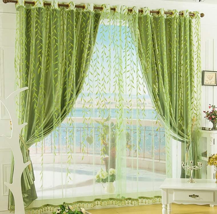 decorar ventanas con cortinas